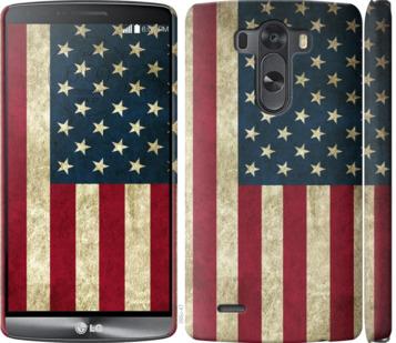 Чехол на LG G3 D855 Флаг США
