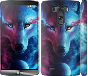 Чехол на LG G3 D855 Арт-волк