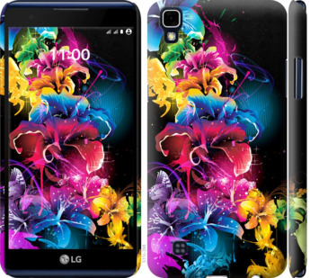 Чехол на LG X Power K220DS Абстрактные цветы