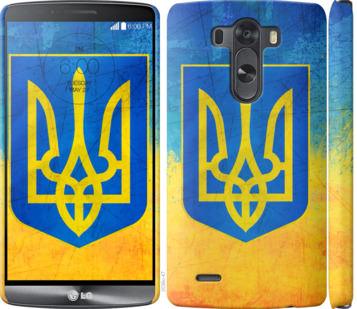 Чехол на LG G3 D855 Герб Украины