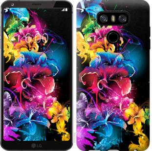 Чехол на LG G6 Абстрактные цветы