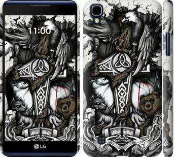 Чехол на LG X Power K220DS Тату Викинг
