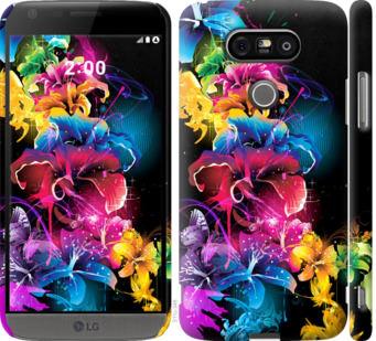 Чехол на LG G5 H860 Абстрактные цветы