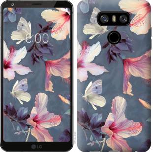 Чехол на LG G6 Нарисованные цветы