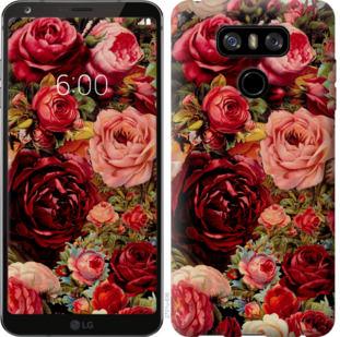 Чехол на LG G6 Цветущие розы