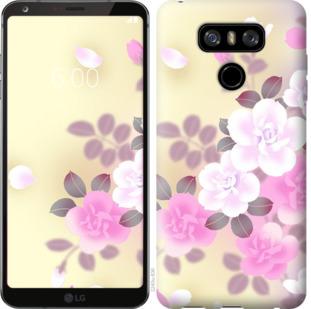 Чехол на LG G6 Японские цветы