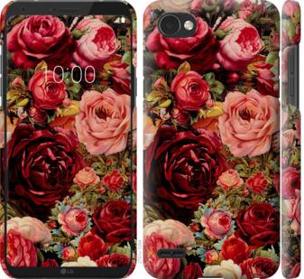 Чехол на LG Q6 Цветущие розы