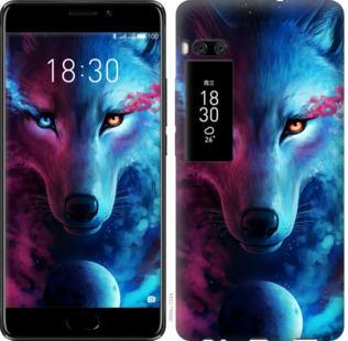 Чехол на Meizu Pro 7 Арт-волк