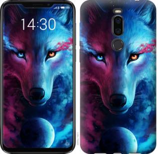 Чехол на Meizu X8 Арт-волк