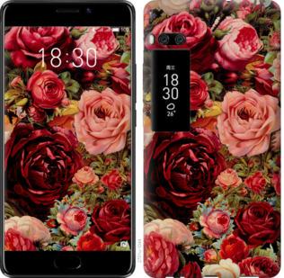 Чехол на Meizu Pro 7 Цветущие розы