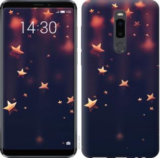 Чехол на Meizu Note 8 Падающие звезды