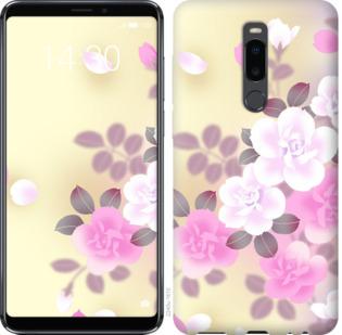 Чехол на Meizu Note 8 Японские цветы