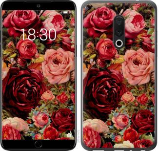 Чехол на Meizu 15 Цветущие розы