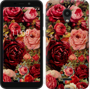 Чехол на Meizu C9 Цветущие розы