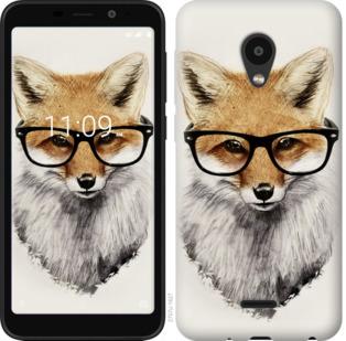 Чехол на Meizu C9 Лис в очках