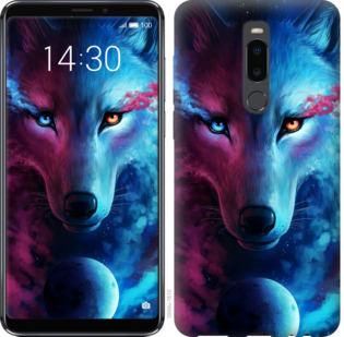 Чехол на Meizu Note 8 Арт-волк
