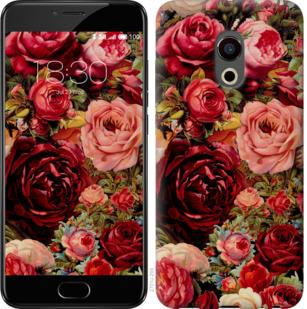 Чехол на Meizu Pro 6 Цветущие розы