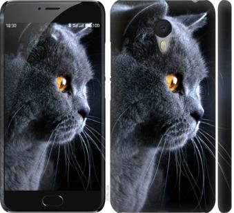 Чехол на Meizu M3 Note Красивый кот