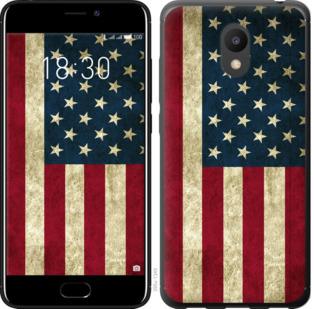 Чехол на Meizu M6 Флаг США