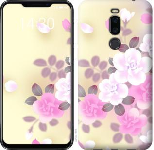 Чехол на Meizu X8 Японские цветы