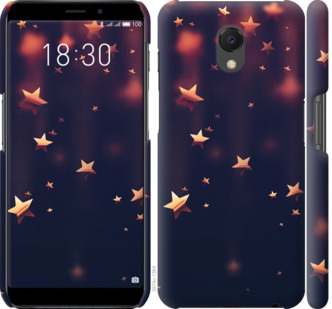 Чехол на Meizu M6s Падающие звезды