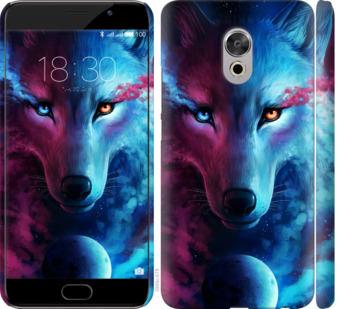 Чехол на Meizu Pro 6 Plus Арт-волк