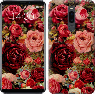 Чехол на Meizu Note 8 Цветущие розы