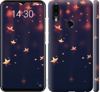 Чехол на Meizu Note 9 Падающие звезды