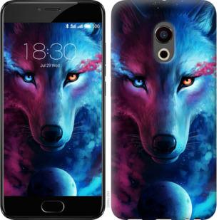 Чехол на Meizu Pro 6 Арт-волк