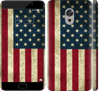 Чехол на Meizu Pro 6 Plus Флаг США