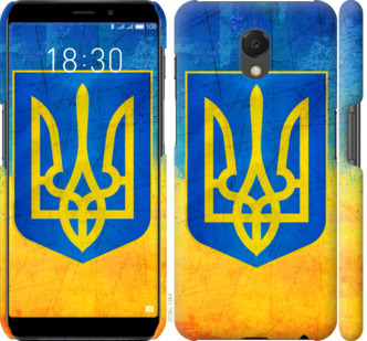 Чехол на Meizu M6s Герб Украины