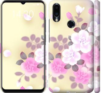 Чехол на Meizu Note 9 Японские цветы