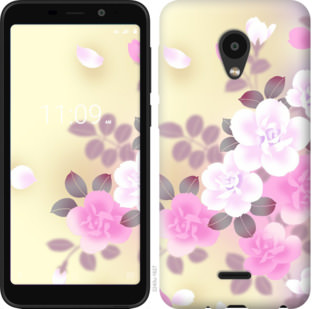 Чехол на Meizu C9 Японские цветы