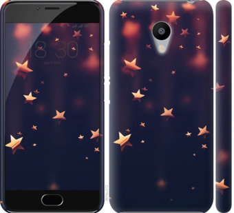 Чехол на Meizu M3s Падающие звезды
