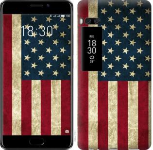 Чехол на Meizu Pro 7 Plus Флаг США