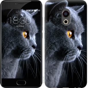 Чехол на Meizu Pro 6 Красивый кот