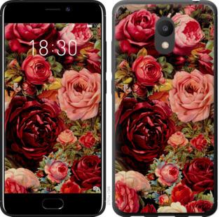 Чехол на Meizu M6 Цветущие розы