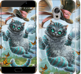 Чехол на Meizu Pro 6 Plus Чеширский кот 2