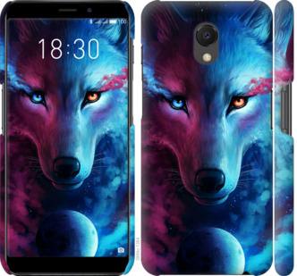 Чехол на Meizu M6s Арт-волк
