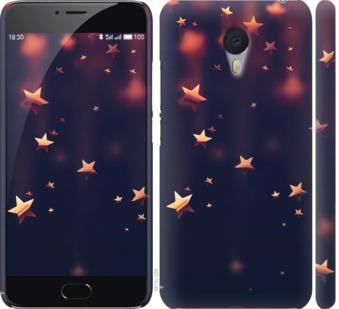 Чехол на Meizu M3 Note Падающие звезды
