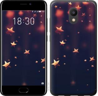 Чехол на Meizu M6 Падающие звезды