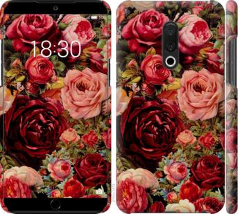 Чехол на Meizu 15 Plus Цветущие розы