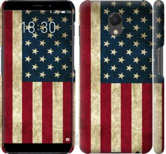 Чехол на Meizu M6s Флаг США
