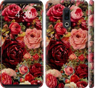 Чехол на Meizu 16th Цветущие розы