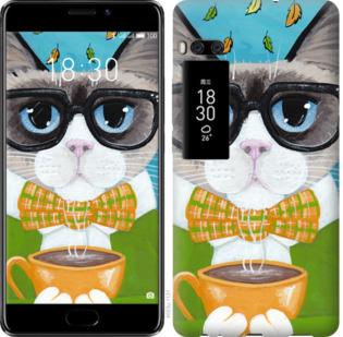 Чехол на Meizu Pro 7 Plus CatandCoffee
