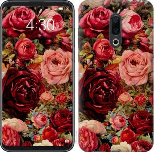 Чехол на Meizu 16 Plus Цветущие розы