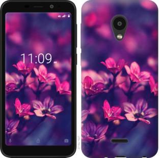 Чехол на Meizu C9 Пурпурные цветы