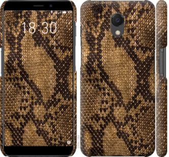 Чехол на Meizu M6s Змеиная кожа
