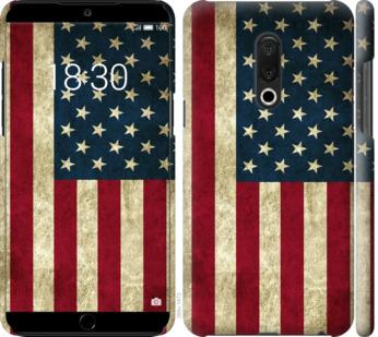 Чехол на Meizu 15 Plus Флаг США