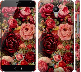 Чехол на Meizu M2 Note Цветущие розы
